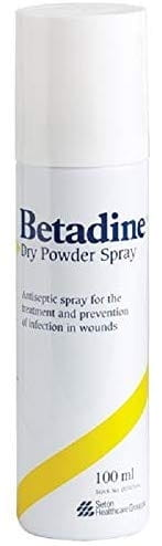 Betadine Dry Powder Antiseptic Spray 100ml