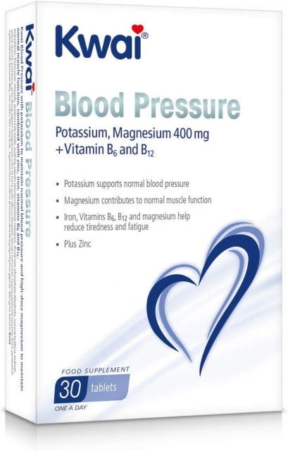 Kwai Blood Pressure Relief 30 Tablets, 30 g