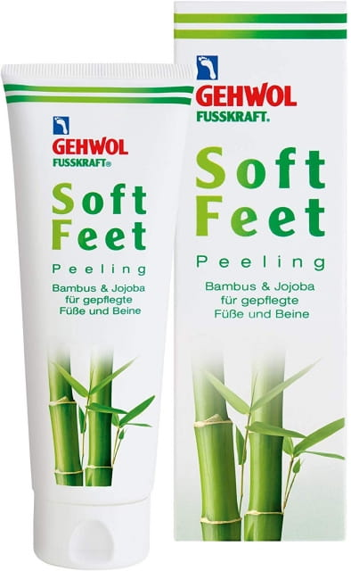 Gehwol Fusskraft Soft Feet Foot Scrub with Bamboo Jojoba 125ml