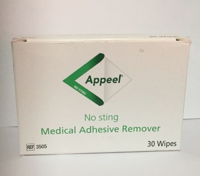 Appeel No Sting Adhesive Wipes (30)